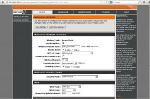 Figura12. Configuracion AP Wi-Fi 1